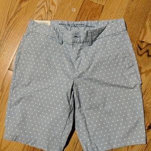 Gap City 10 inch bermuda shorts NWT